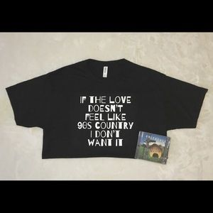90s country music t-shirt